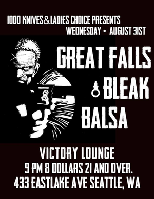 Great Falls Bleak Balsa Victory Lounge August 31 2016
