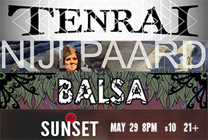 Tenrai Nijlpaard Balsa The Sunset Seattle